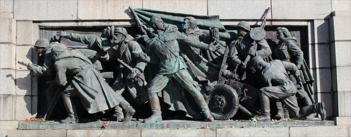 Monument of the Soviet Army Sofia