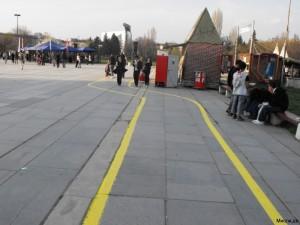 Bikelane in Sofia