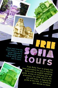 First Flyer of Free Sofia Tour
