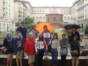 rainy tour