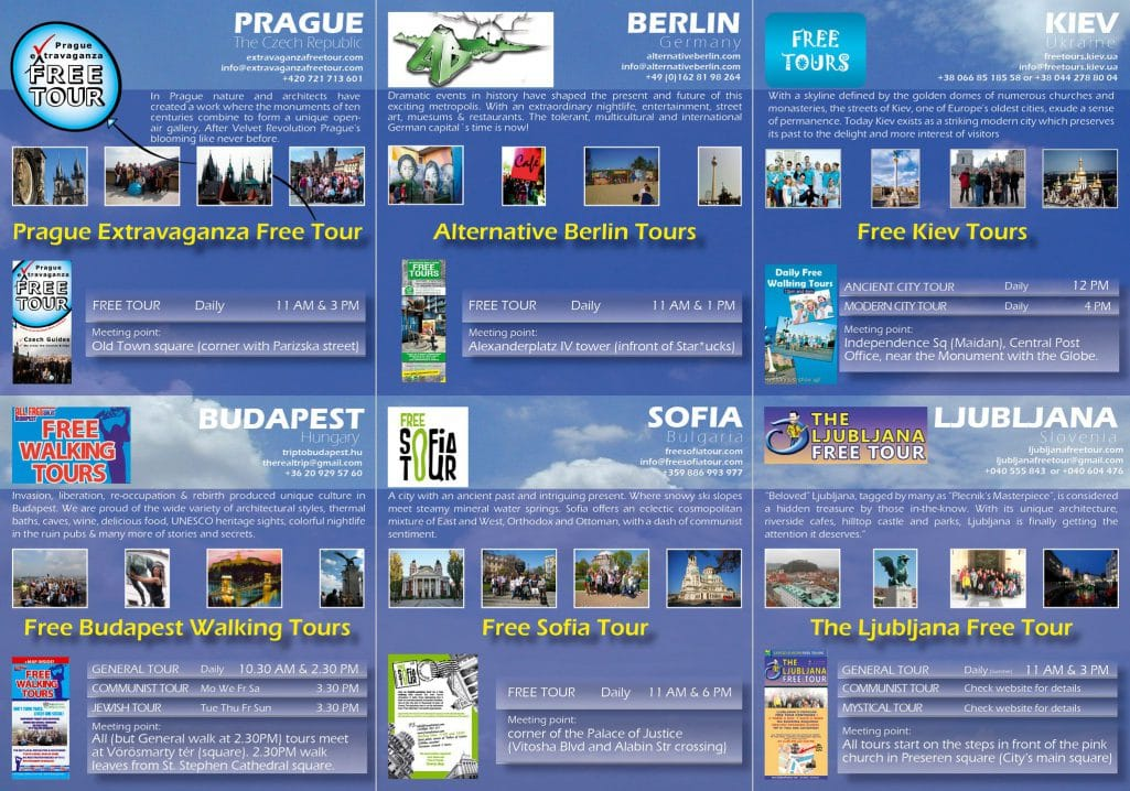 List of Free Walking Tours around the World