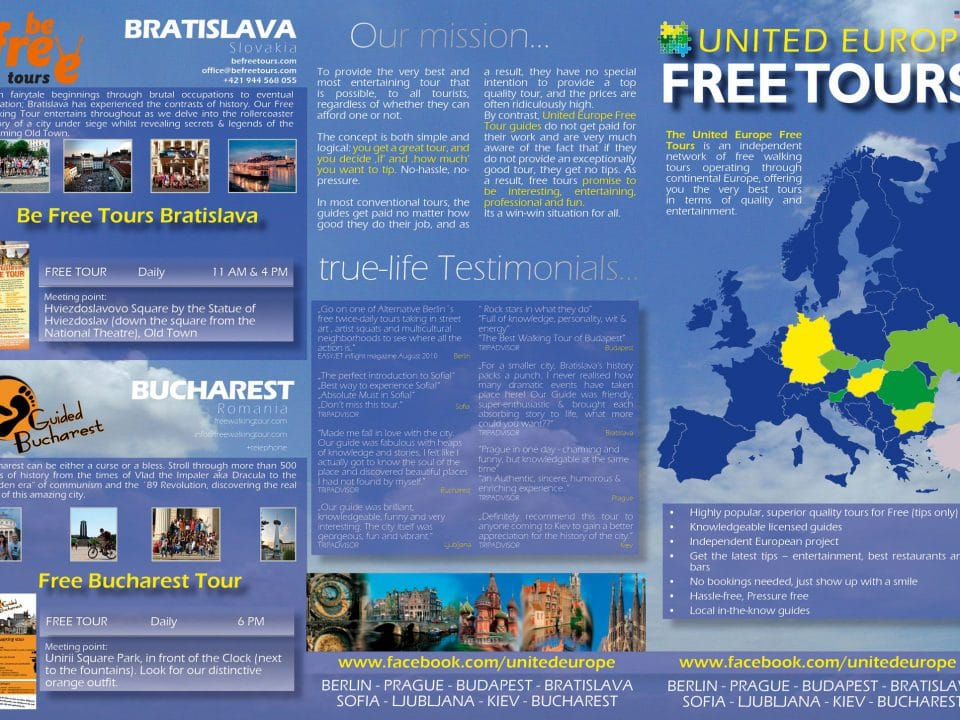 List of Free Walking Tours around the World