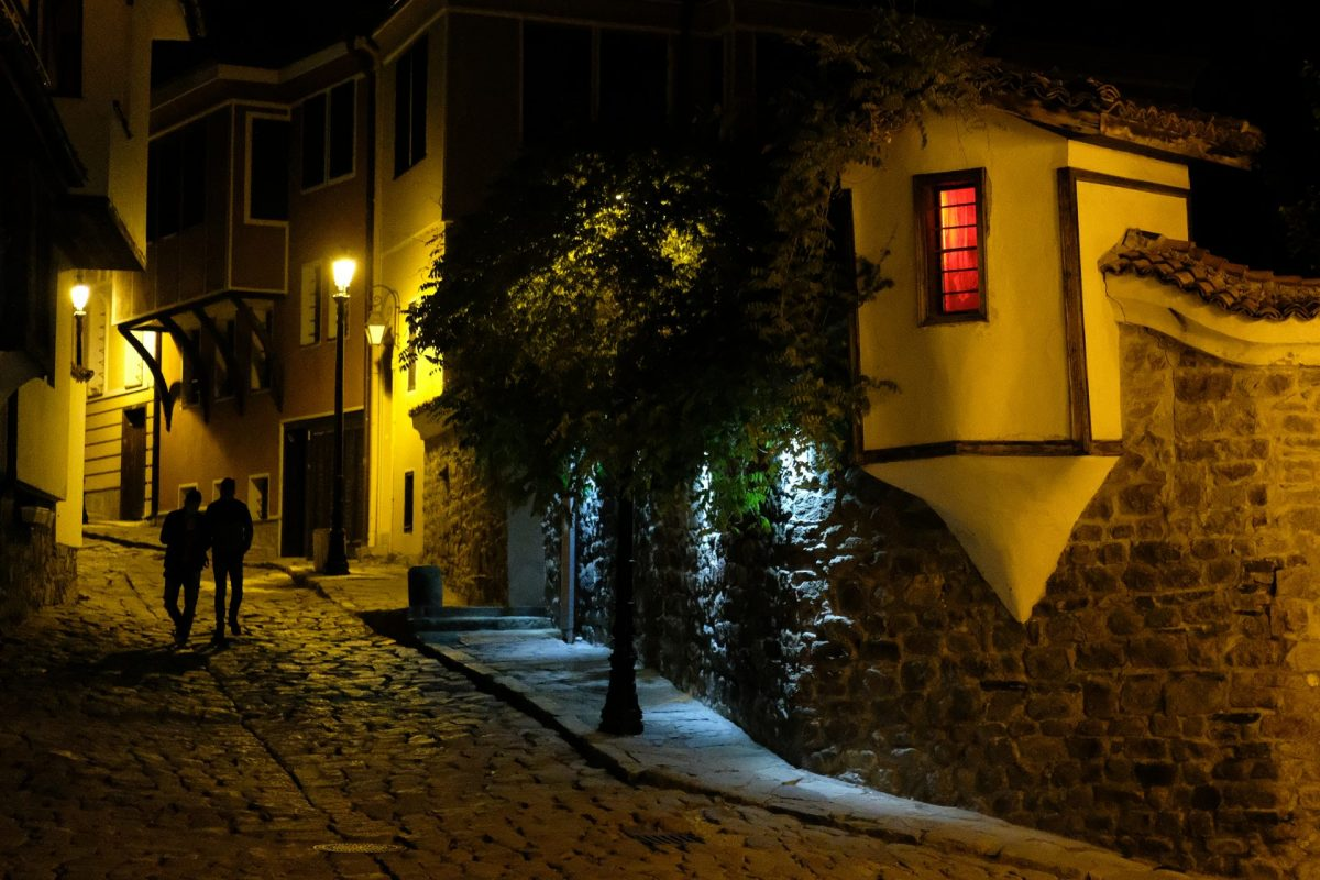 Plovdiv at night