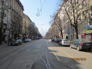 Булевард Витоша - пешеходната зона на София