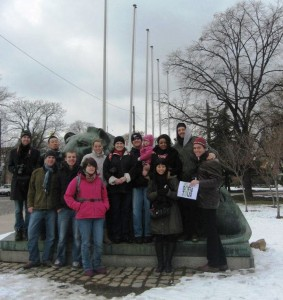 A group with Kiril - Free Sofia Tour