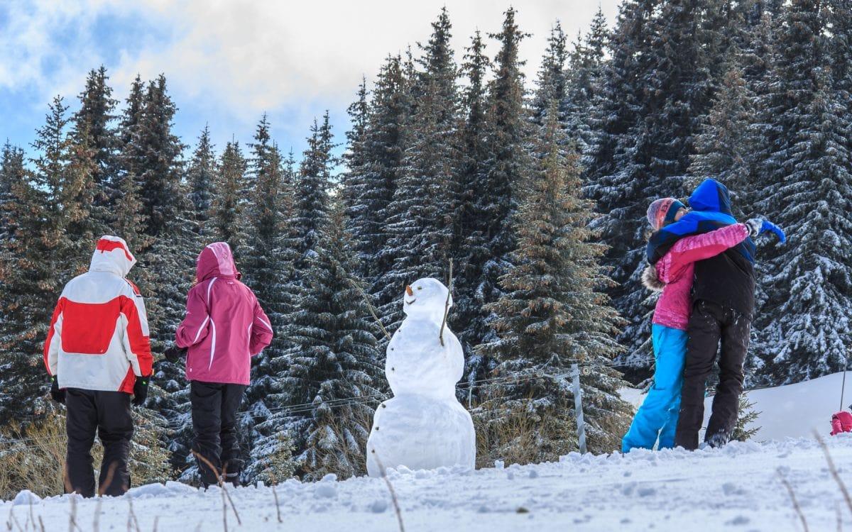 vitosha mountain snow