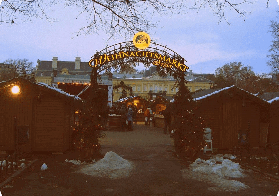 The Weihnachtsmarkt in Sofia / Немския Коледен Базар
