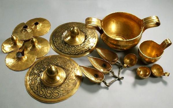 The treasure of Valchitran - Thracian treasures