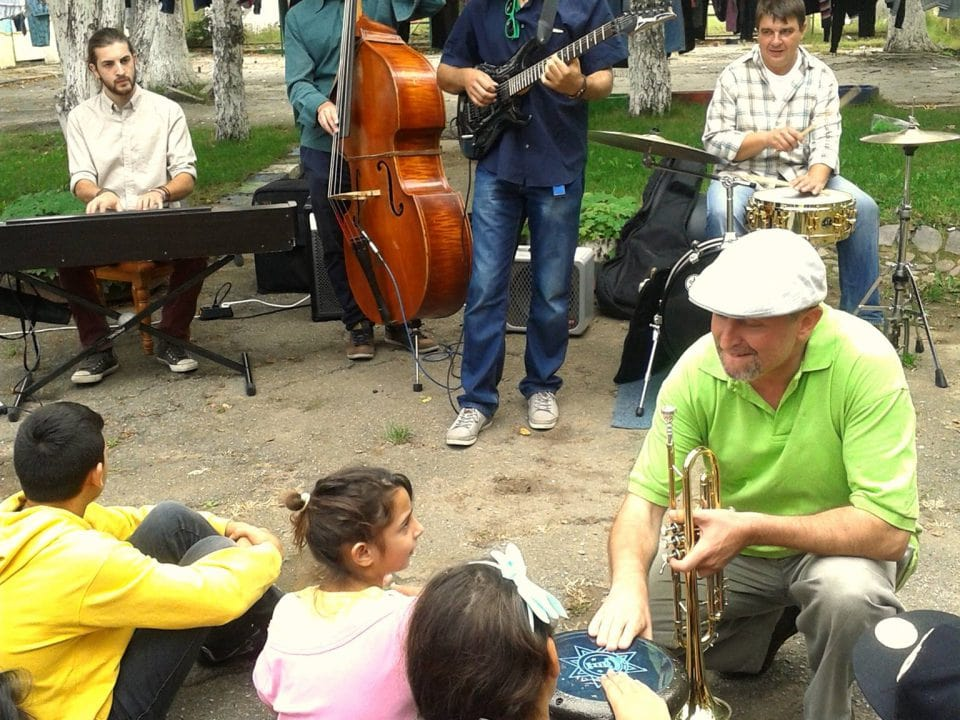 Jazz Workshop for the Kids from Doganovo