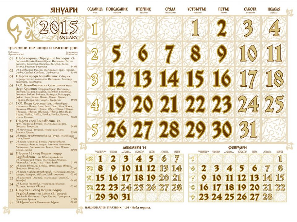 The name day: A Special Day for a Special Name | Free Sofia Tour