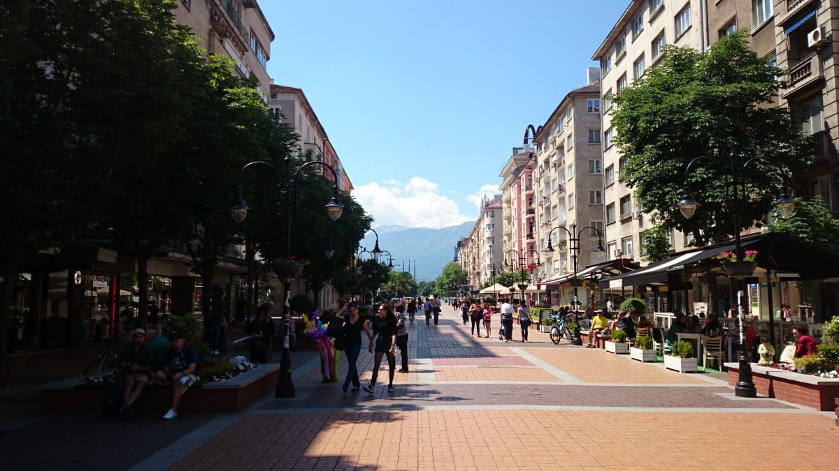 Pedestrian Friendly Sofia - Vitoshka 2