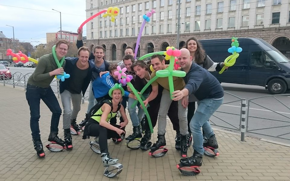Private Kangoo Jump Tour Private tour на Kangoo Jump обувки | Free Sofia Tour