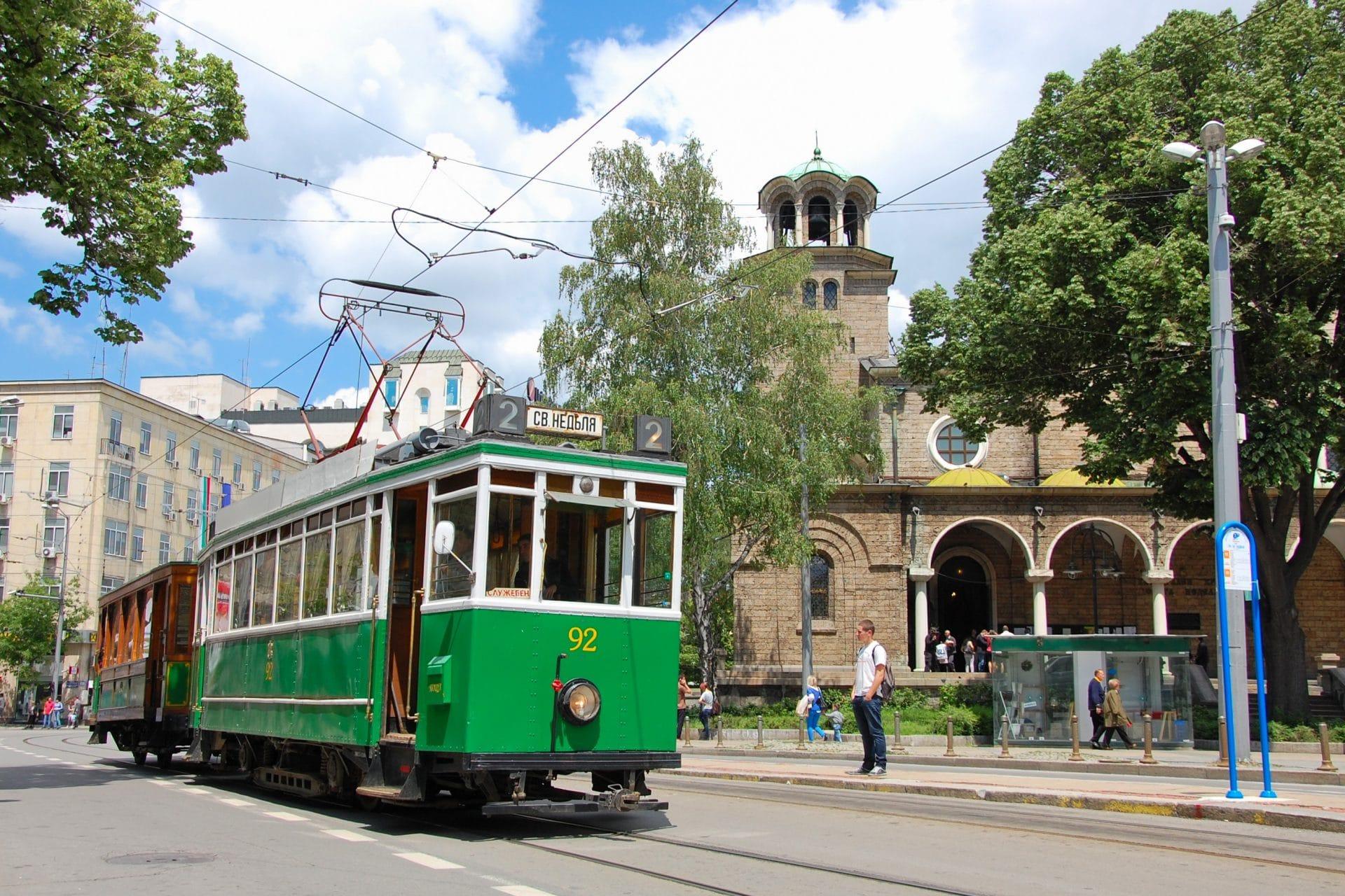 Зелените трамваи търсят своя дом | Free Sofia Tour