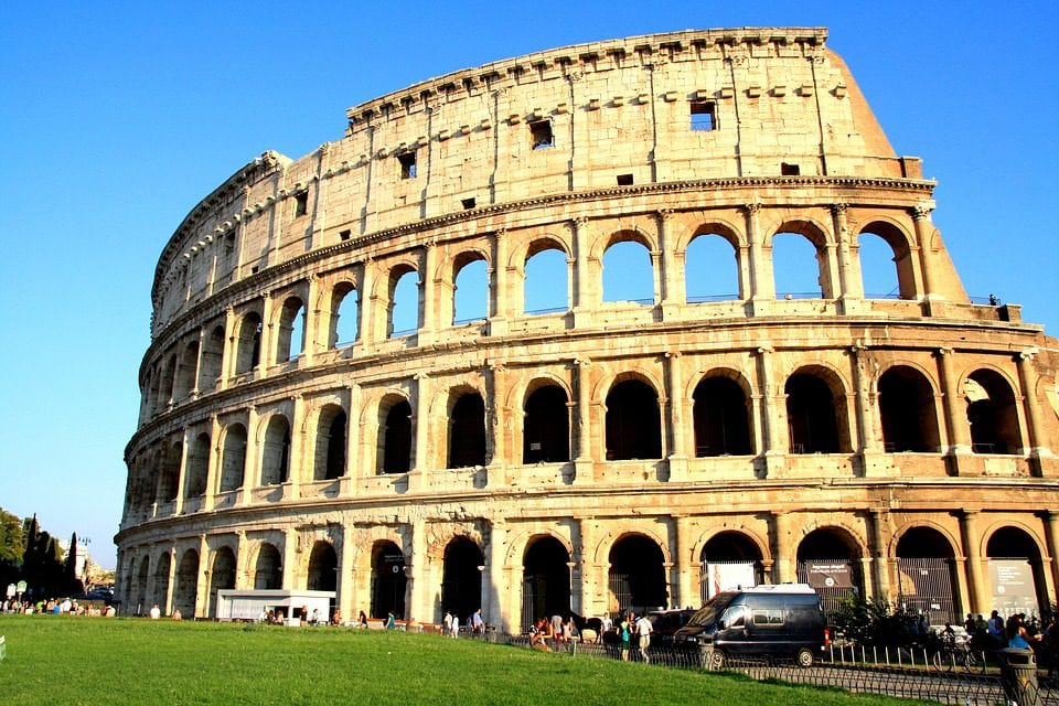 Facts we love about Italy - colosseum