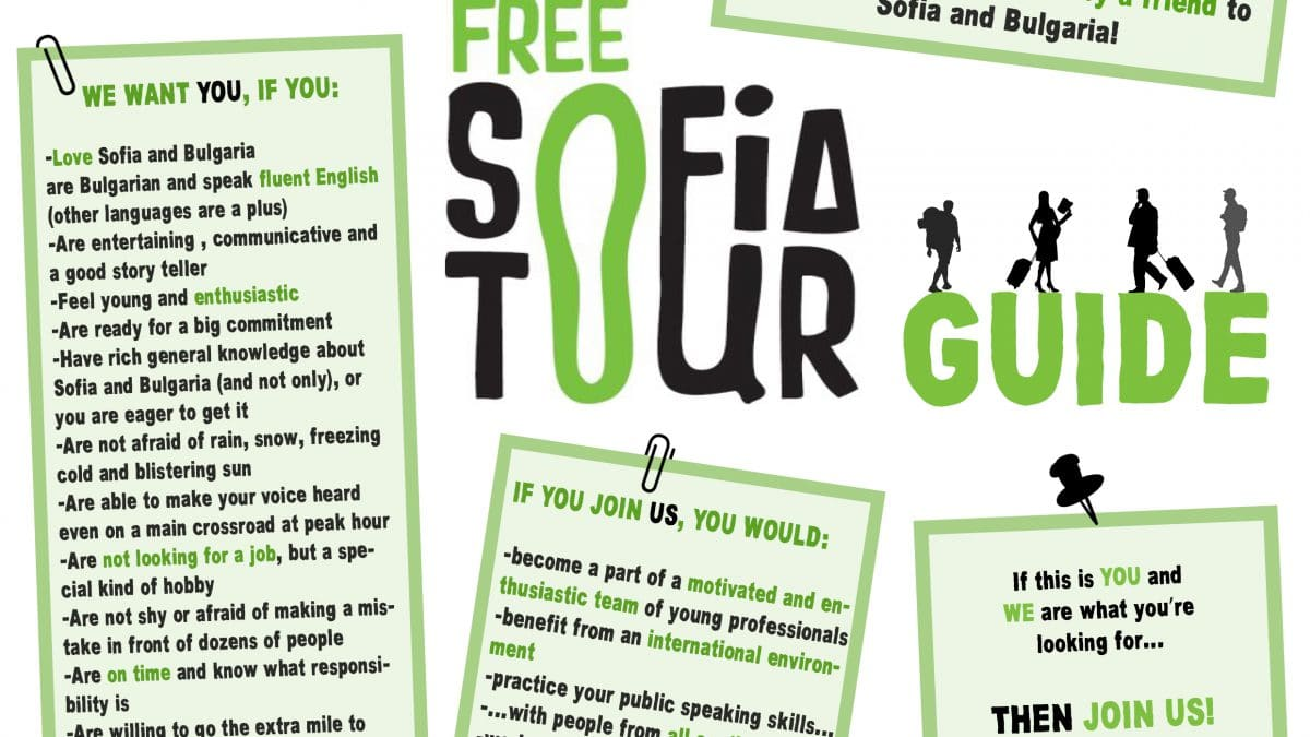 The Free Sofia Tour Is Looking For New Guides