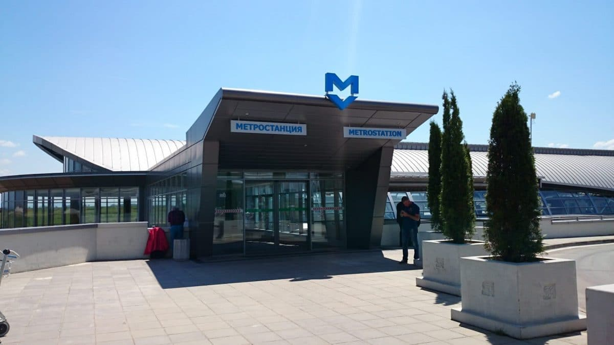 Sofia Airport Metro/Subway station