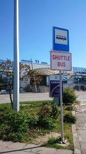 Sofia Airport Shuttle Bus Stop