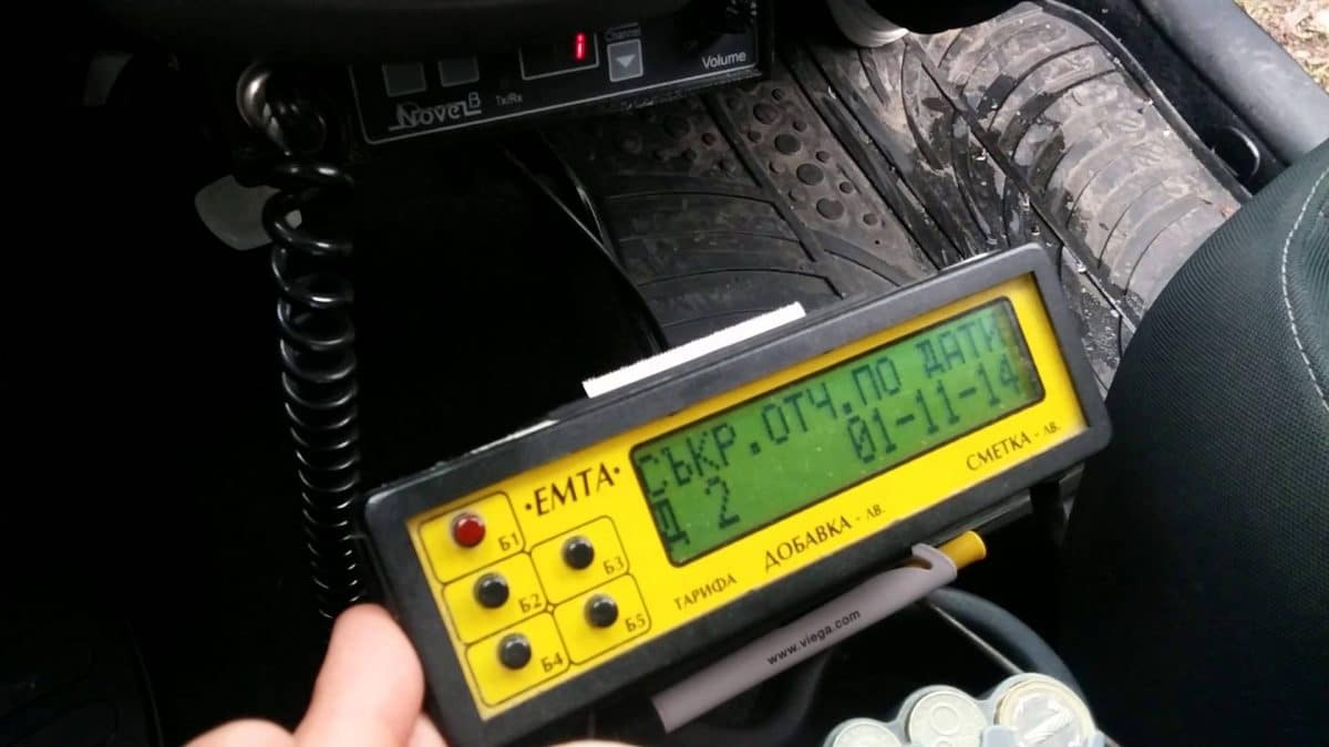 Taxi fare meter/calculator