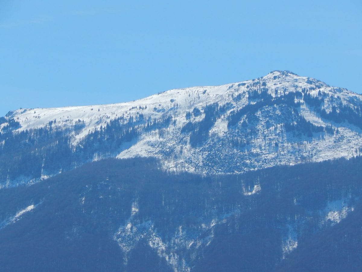 winter in sofia vitosha