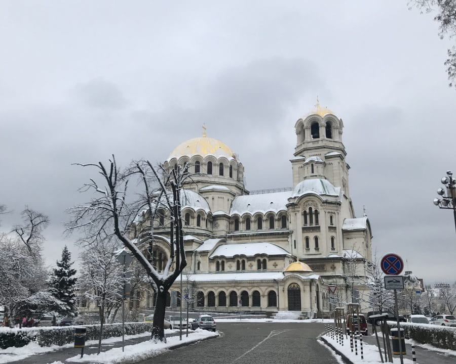 Winter in Sofia