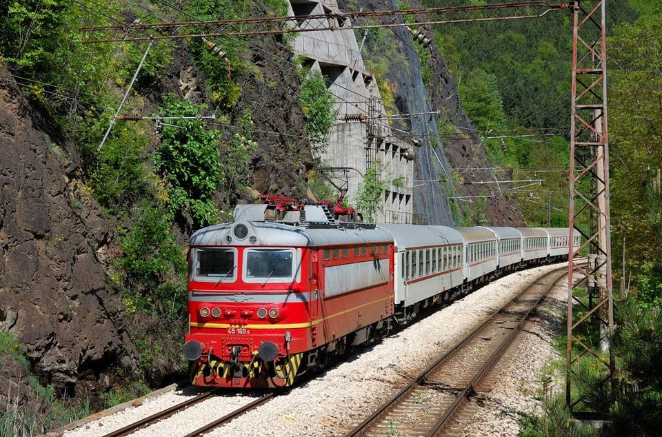 bulgaria by train