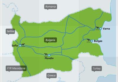 train bulgaria