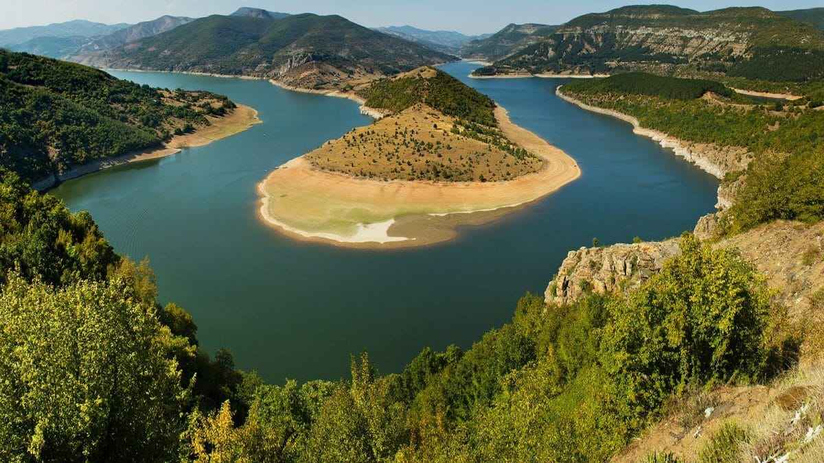 Bulgaria - must visit - on the picture rive Arda and the big meander.