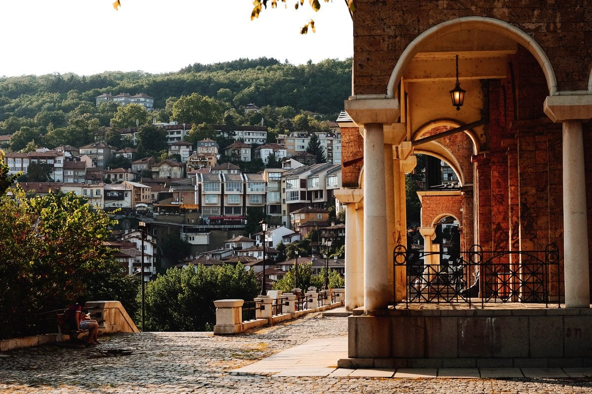 getting to veliko tarnovo