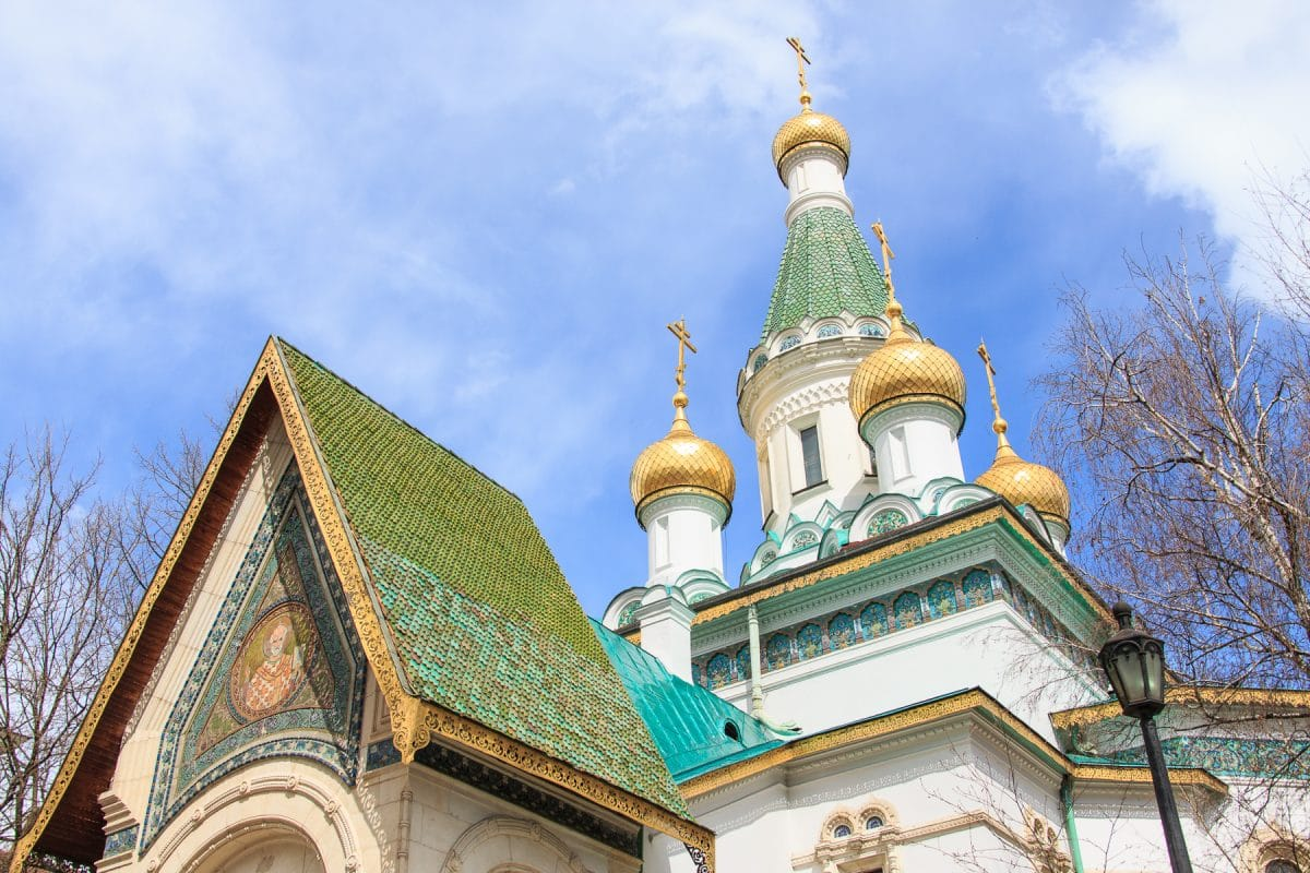 most beautiful buildings in Sofia russiah church