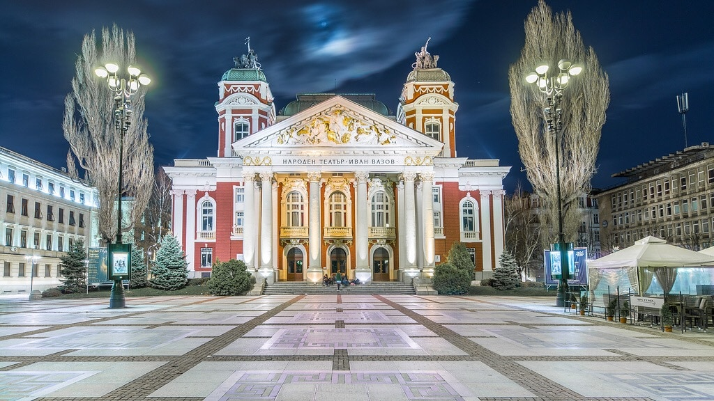most beautiful buildings in Sofia