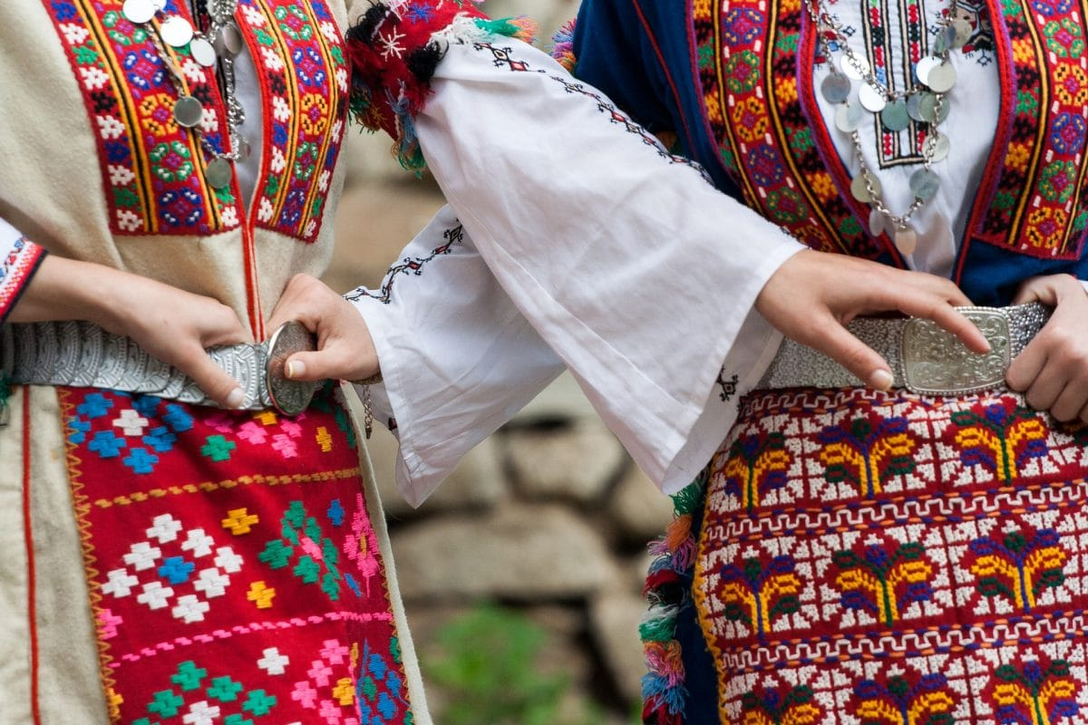 bulgarian folklore costumes souvenirs