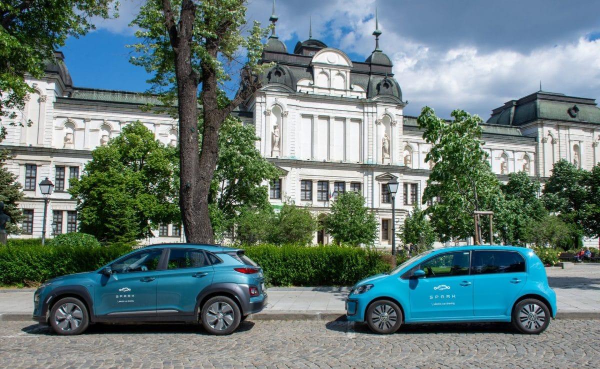 electric car spark